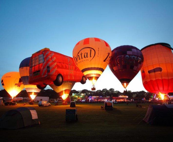 Balony nad Stalową
