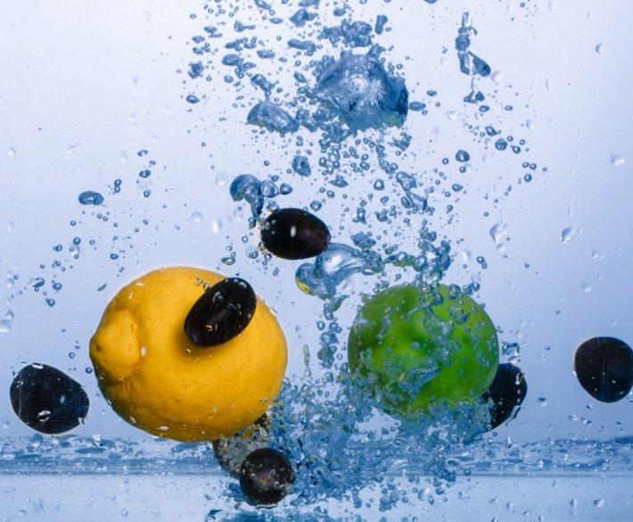 Owoce w akwarium