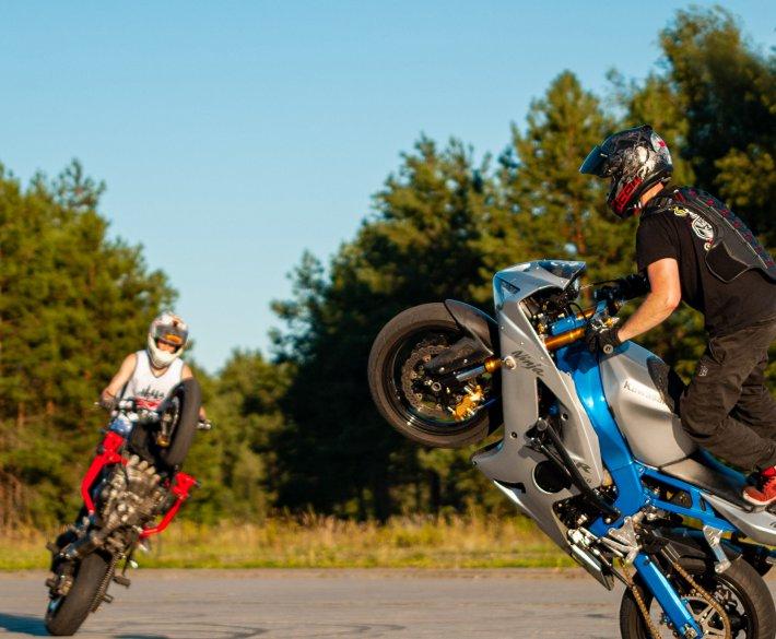 Motocyklowe Triki!