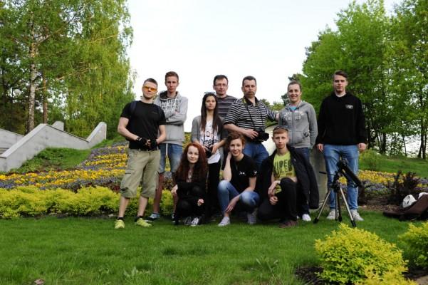 Maj 2015 - Plener w stalowowolskim parku